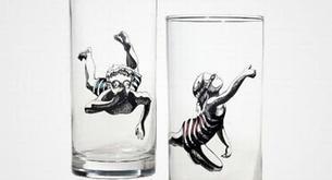 Bicchieri originali per una tavola più allegra