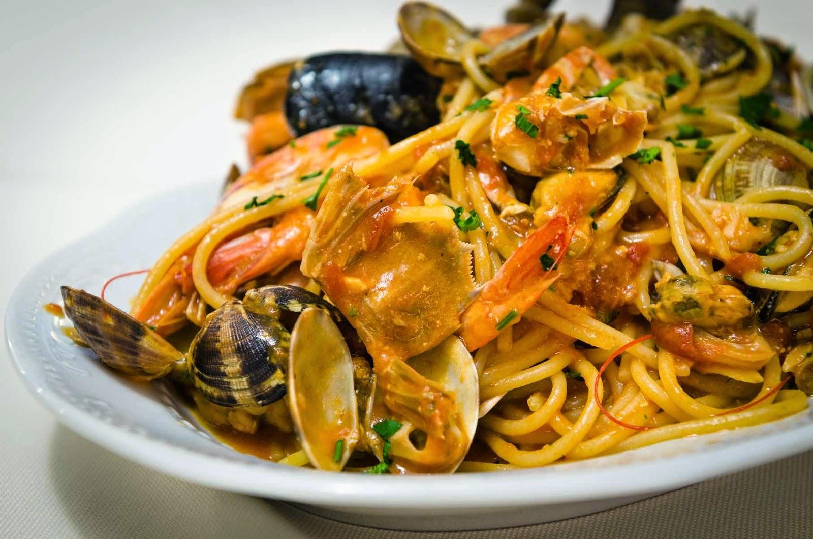 L'Italia in tavola: spaghetti allo scoglio